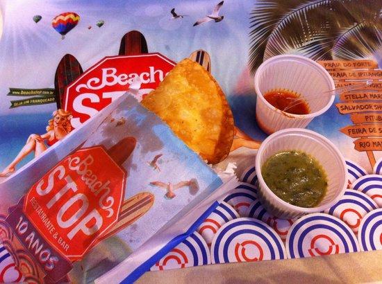 Beach Stop Restaurante & Bar : Um lanche saboroso!