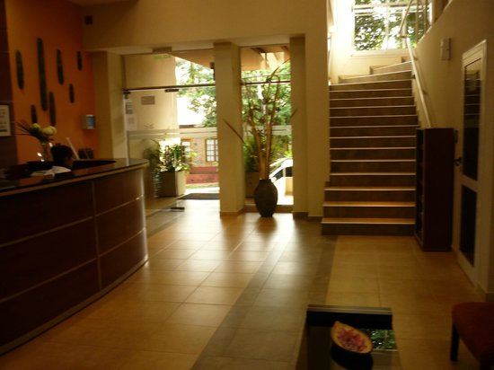 Hotel Jardín de Iguazú: recepcion