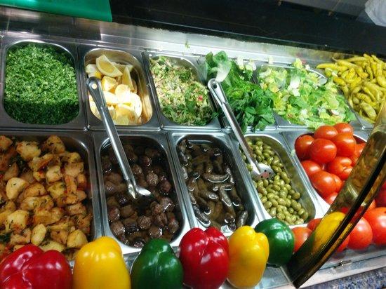 Ranoush Juice Marble Arch: Veggies