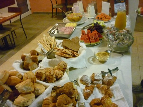 Hotel Jardin de Iguazu : Desayuno