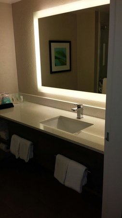 Holiday Inn Resort Aruba - Beach Resort & Casino : Bathroom in the sea tower