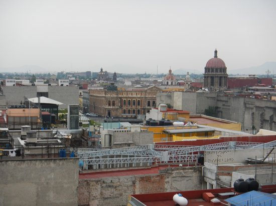 Hotel Catedral: View from the 7th floor terrace