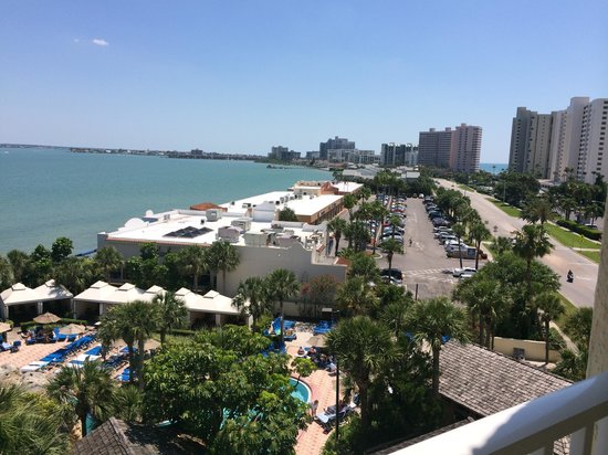 Clearwater Beach Marriott Suites on Sand Key: View from our balcony
