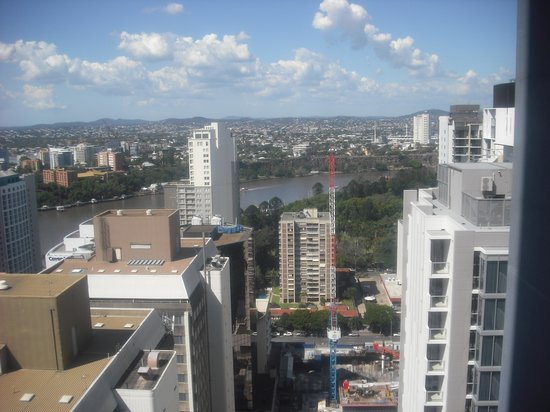 Oaks Charlotte Towers : View from balcony Room 3301