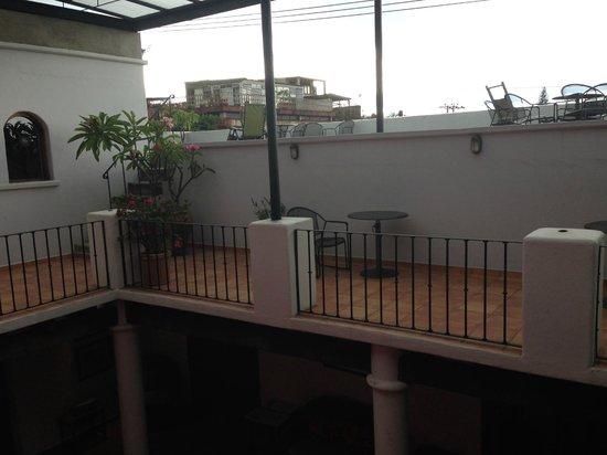 Casa de los Milagros B&B: Patio/roof