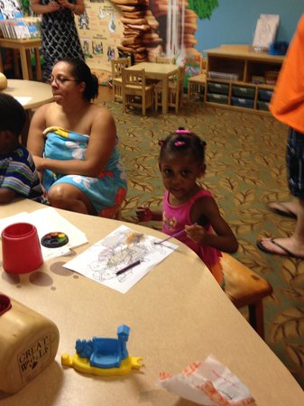 Great Wolf Lodge Concord: My Daughter in Cub Club room