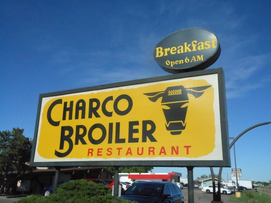 Charco Broiler: Sign