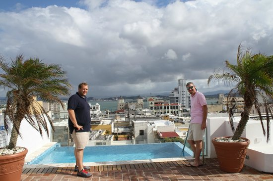 La Terraza de San Juan: terrace & pool