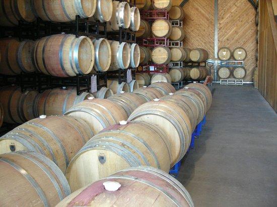 Asuncion Ridge : Winery / Barrel storage