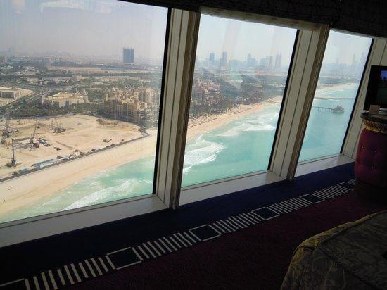 Burj Al Arab Jumeirah: View from our panoramic suite