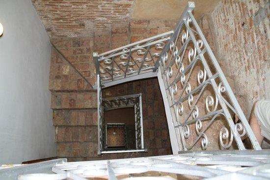 La Terraza de San Juan: stairwell