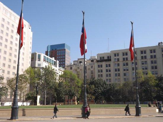 Eurotel El Bosque: Plaza de armas.