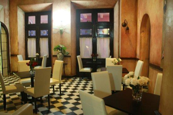 La Terraza de San Juan: lobby, dining