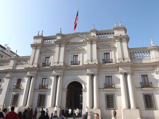 Eurotel El Bosque: Palacio de la moneda.
