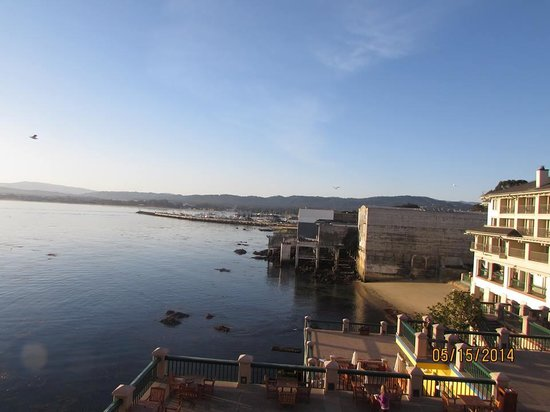 Monterey Plaza Hotel & Spa: View out my window