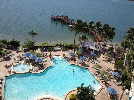 Sanibel Harbour Marriott Resort & Spa : View from balcony