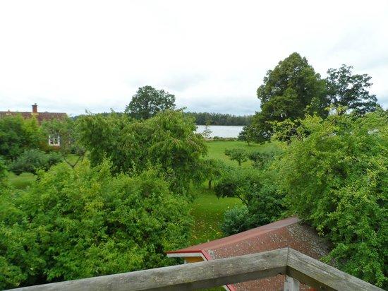 Toftaholm Herrgard Hotel: View from room