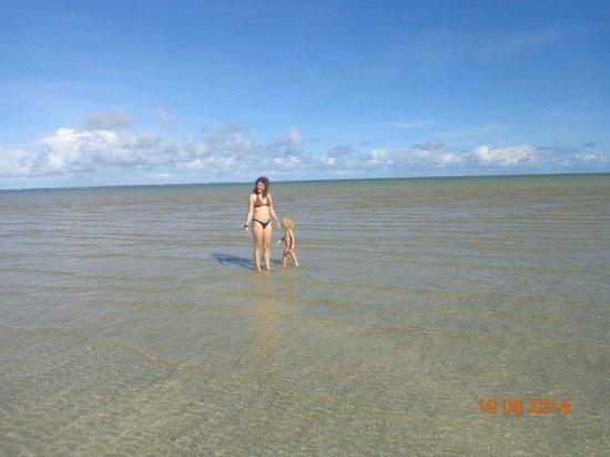 Pousada dos Jangadeiros: Praia da Bruna, passeio de bugue