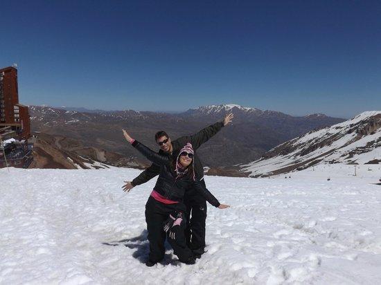 Eurotel El Bosque: Vale nevado.