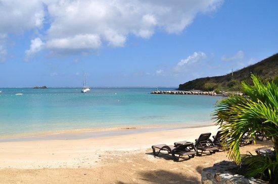 Hotel Riu Palace St Martin: Beach view