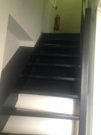 Hampshire Hotel - Kasteel Doenrade: the stairs