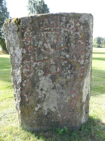 Toftaholm Herrgard Hotel: runestone