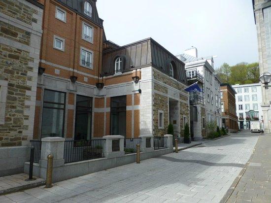 Auberge Saint-Antoine from the street- main entrance