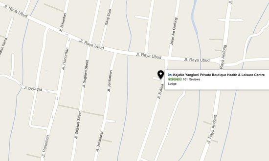 KajaNe Yangloni Private Boutique Health & Leisure Centre : this is the Tripadvisor map with location close to the Palace