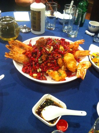 Ji Shi Restaurant : Fried Prawns