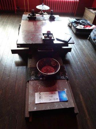 Lady Jane B&B: Low Japanese table in bedroom
