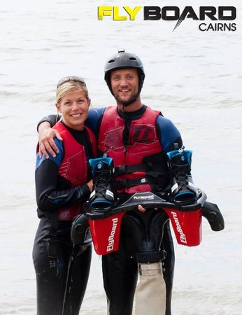 Flyboard Cairns : Tired after flying
