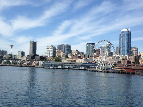 Argosy Cruises - Seattle Waterfront : View from Seattle Harbor