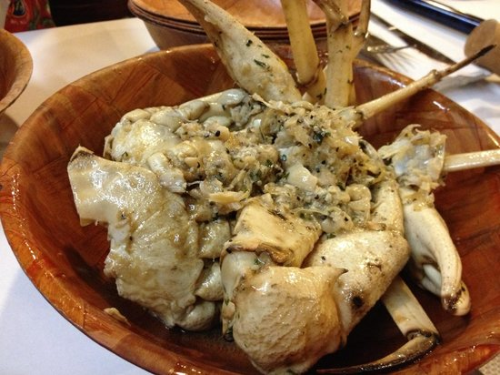 Rustic Inn Crabhouse : Fl crab , fresh in daily
