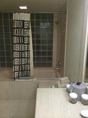 The Atheneum : Bath Tub room 618