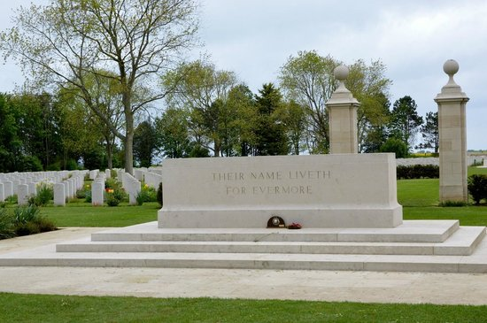 Centre Juno Beach : Beny-sur-Mer France- Canadian War Cemetery