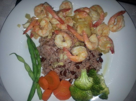 Lobster Pot: Rum runner shrimp