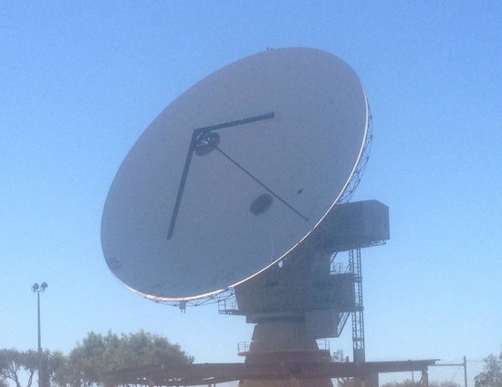 ‪OTC Satellite Earth Station Carnarvon‬