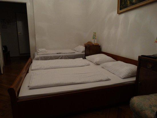 Hotel Terminus: Habitación