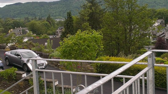 Hillthwaite Hotel: View from Balcony