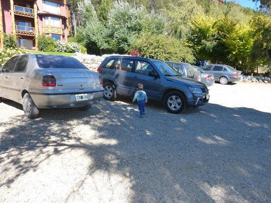 Nido del Condor Hotel & Spa: estacionamineto