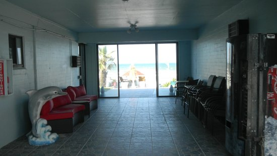 Dream Inn: view from the breezeway