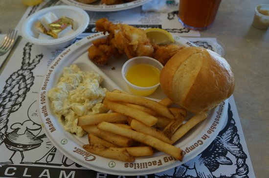Allen's Clam Bar: Fried Lobster Tail
