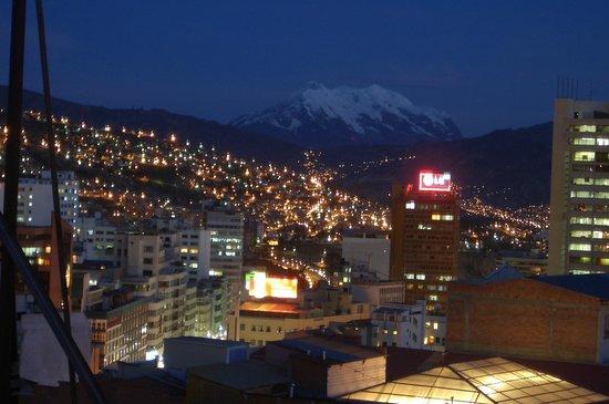 Hotel Sagarnaga: Vista do Hotel em La Paz