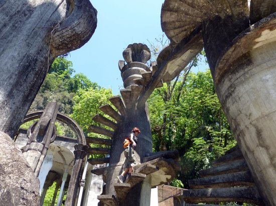 Jard n surrealista de edward james xilitla picture of for Jardin xilitla