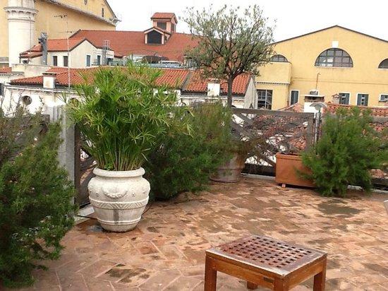 Hotel Saturnia & International : ROOF TOP OF HOTEL
