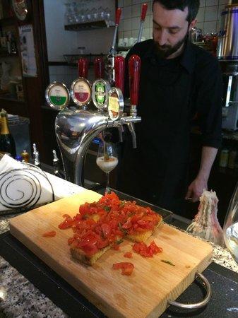 Colpo de Mato: The bruschetta was delicious!