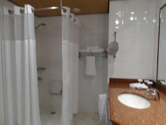 Hilton Strasbourg: Baño
