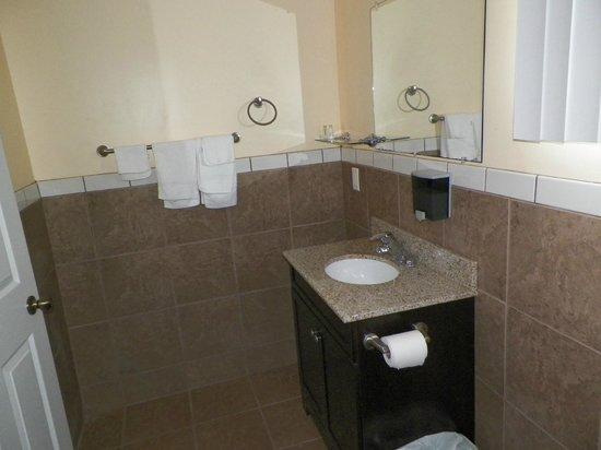 Sun Parlor Motel: NON SMOKING ROOM BATH ROOM