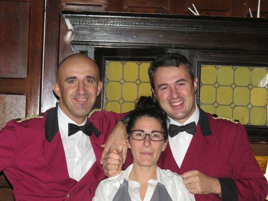 Hotel Saturnia & International: Friendly attentive  restaurant  staff
