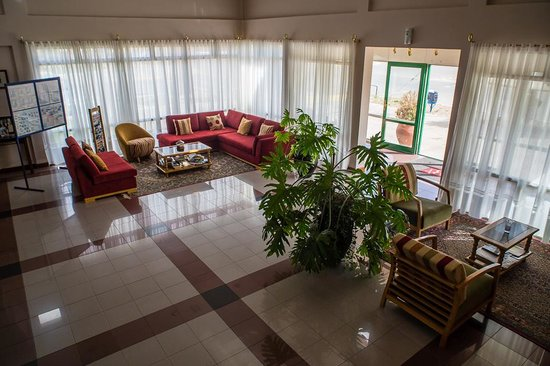 Hotel Bahia: recepcion